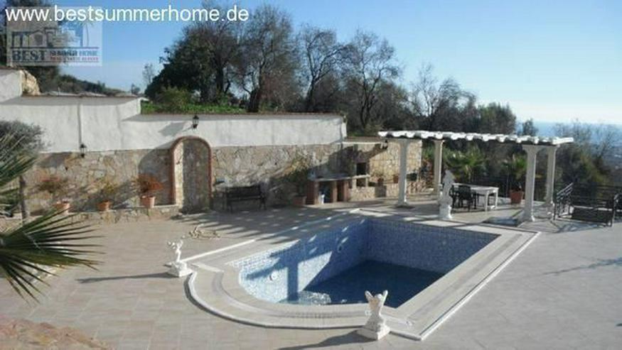 Großes Anwesen in Mahmutlar mit Privatpool und Meerblick und Pferdekoppel - Haus kaufen - Bild 4