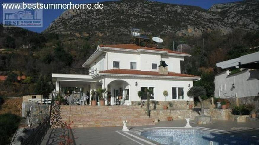 Bild 9: Großes Anwesen in Mahmutlar mit Privatpool und Meerblick und Pferdekoppel