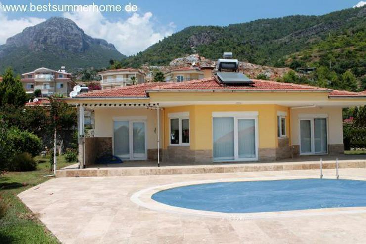Schöner Bungalow mit privatem Pool in Alanya /Oba