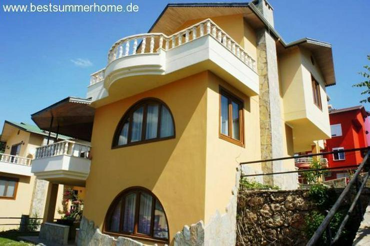 Große voll möblierte 3 stöckige Villa in Alanya Kestel
