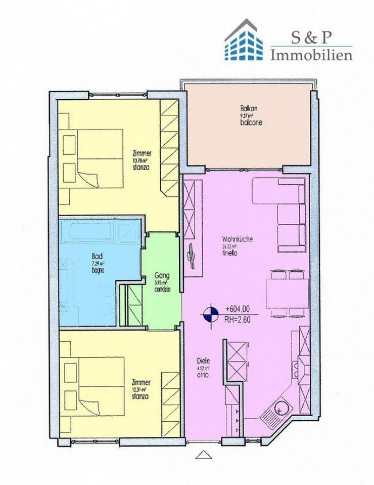Neuwertige 3-Zimmerwohnung in Marling - Wohnung kaufen - Bild 1