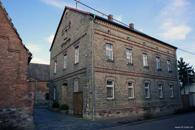 Bild 3: Zwei-Familien-Haus mit großem Nebengelaß bei Querfurt