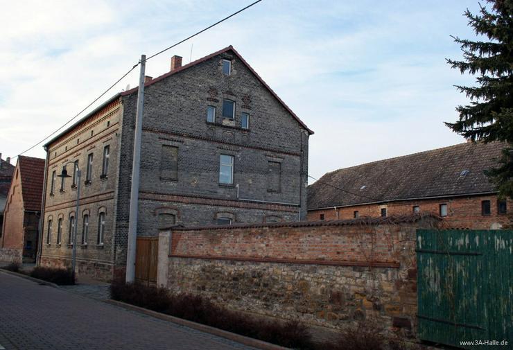 Bild 5: Zwei-Familien-Haus mit großem Nebengelaß bei Querfurt