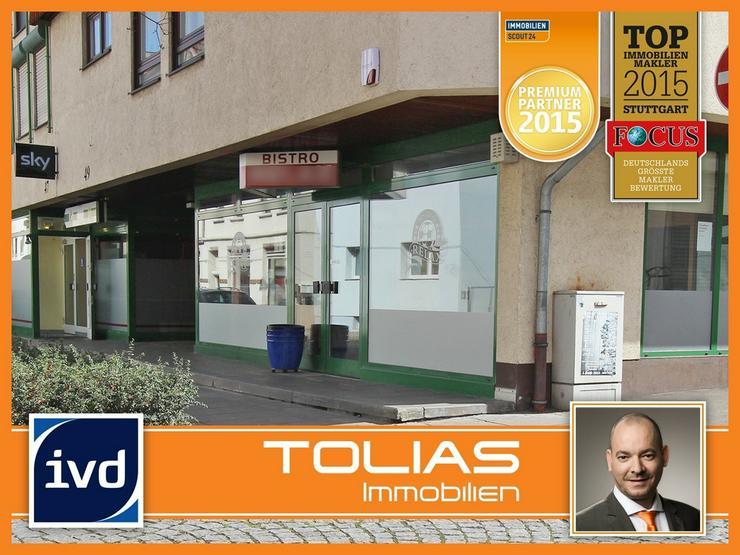 Bistro in zentraler Lage - brauereifrei, 3 Spielautomaten, nahe S-Bahn und Haupteinkaufsst... - Gewerbeimmobilie kaufen - Bild 1