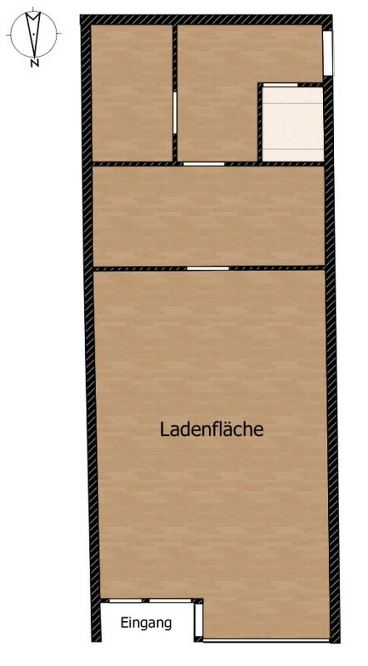 Bild 3: Imbiss in zentraler Lage - 2 Spielautomaten, nahe S-Bahn und Haupteinkaufsstraße.