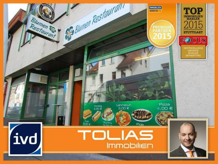 Imbiss in zentraler Lage - 2 Spielautomaten, nahe S-Bahn und Haupteinkaufsstraße. - Gewerbeimmobilie kaufen - Bild 1