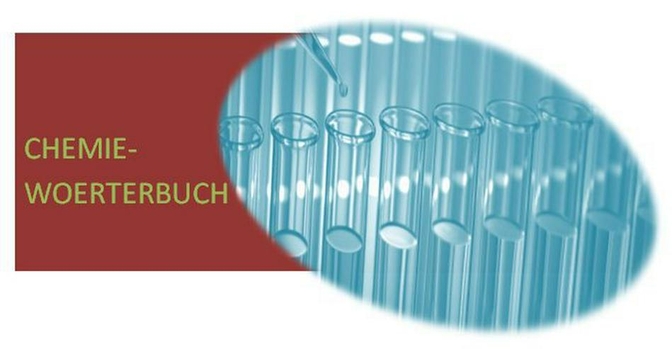 englisch fuer Chemielaborant: Chemie-Begriffe