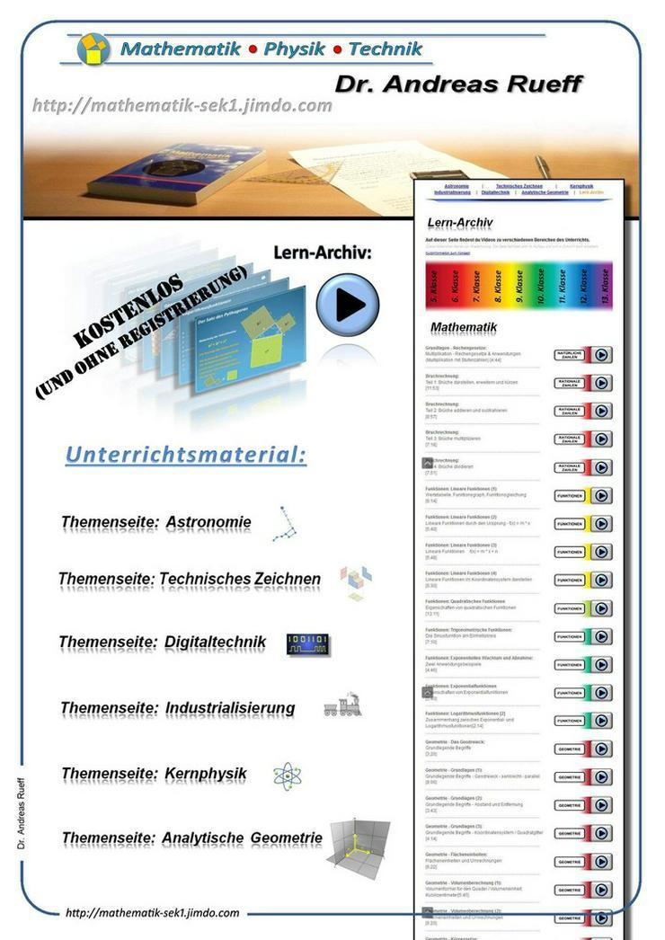 Lernvideos & Lernmaterialien (kostenlos)