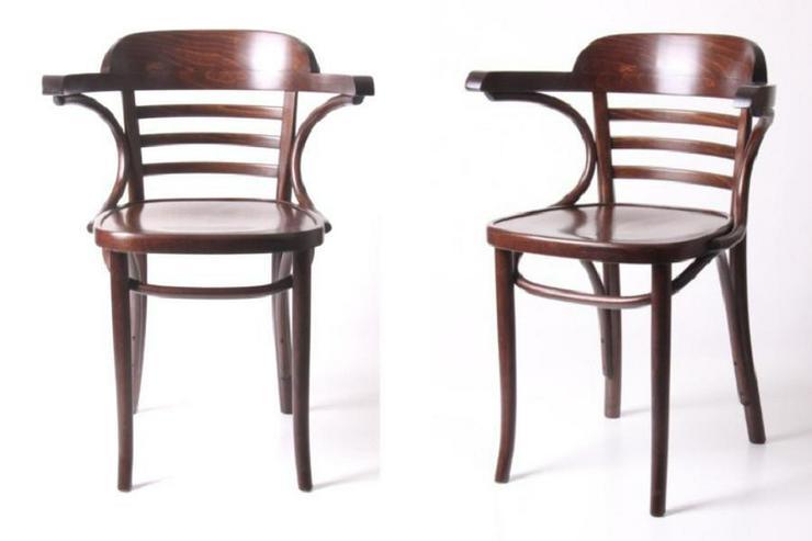 Bugholz-Armlehnstuhl Wiener Halbsessel - Stühle & Sitzbänke - Bild 1