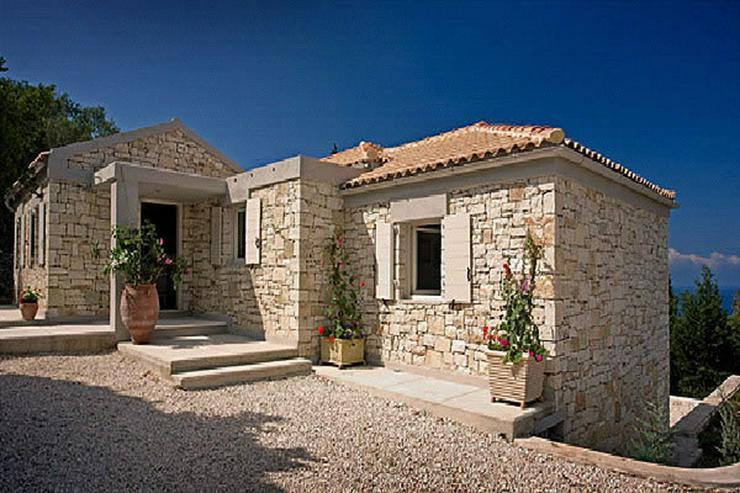 Bild 2: Neubau Natursteinhaus auf Naxos