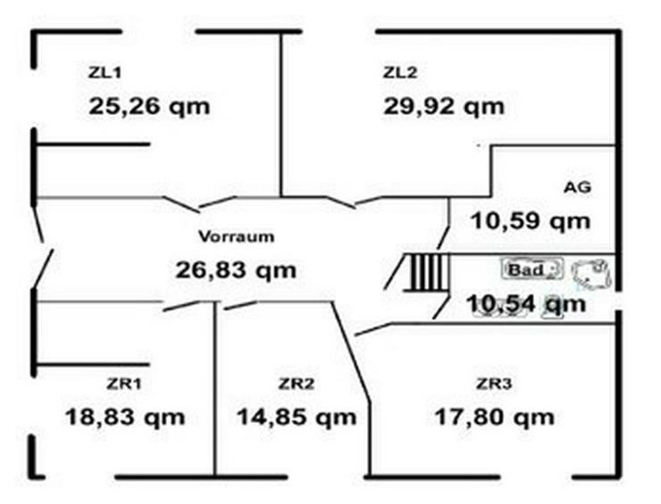 Bild 10: Nahe Fähre Kappel: Gewerbeobjekt, Haus mit ca. 200qm und 5000 qm Grundstück
