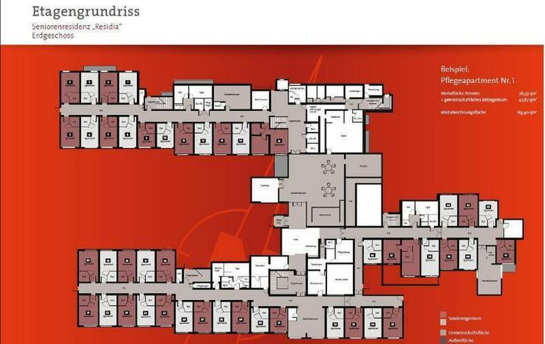 Bild 8: Eine Wohneinheit in Seniorenresidenz als Kapitalanlage