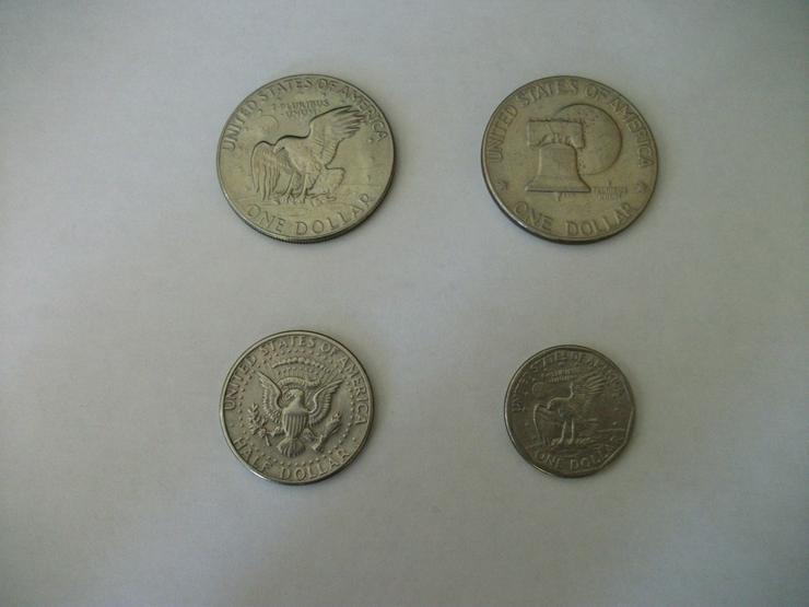 Seltene USA-Dollarmünzen