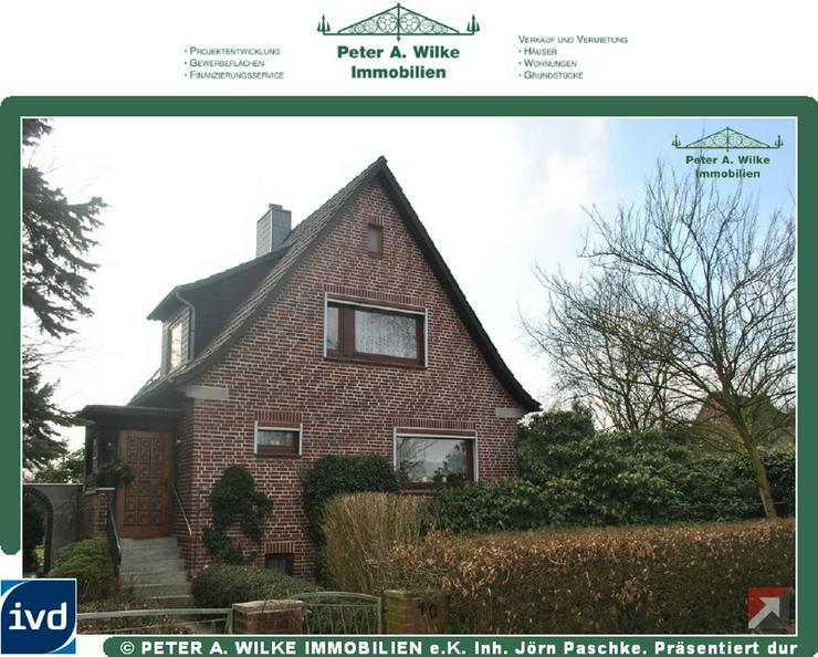 CHARMANTES kleines HAUS mit geschütztem Hofgrundstück und Statteldach-GARAGE - Haus kaufen - Bild 1