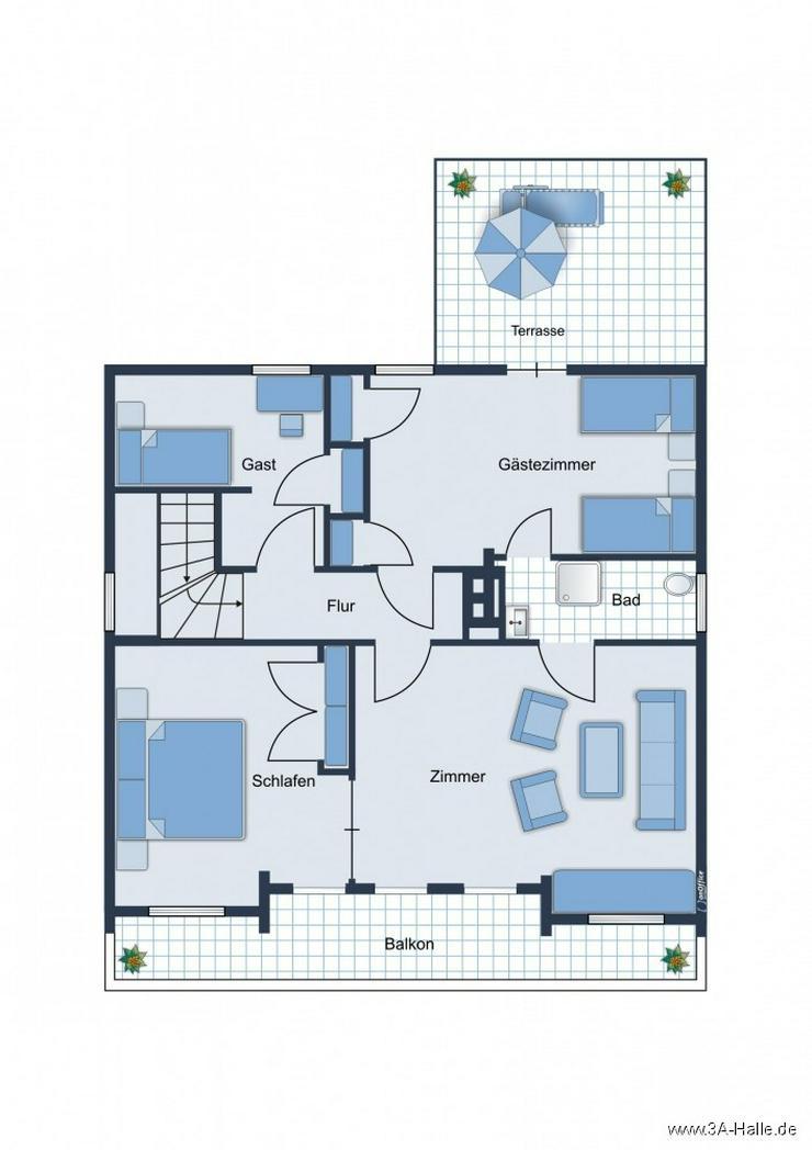 Bild 8: Liebhaber-Grundstück mit einzigartiger Villa
