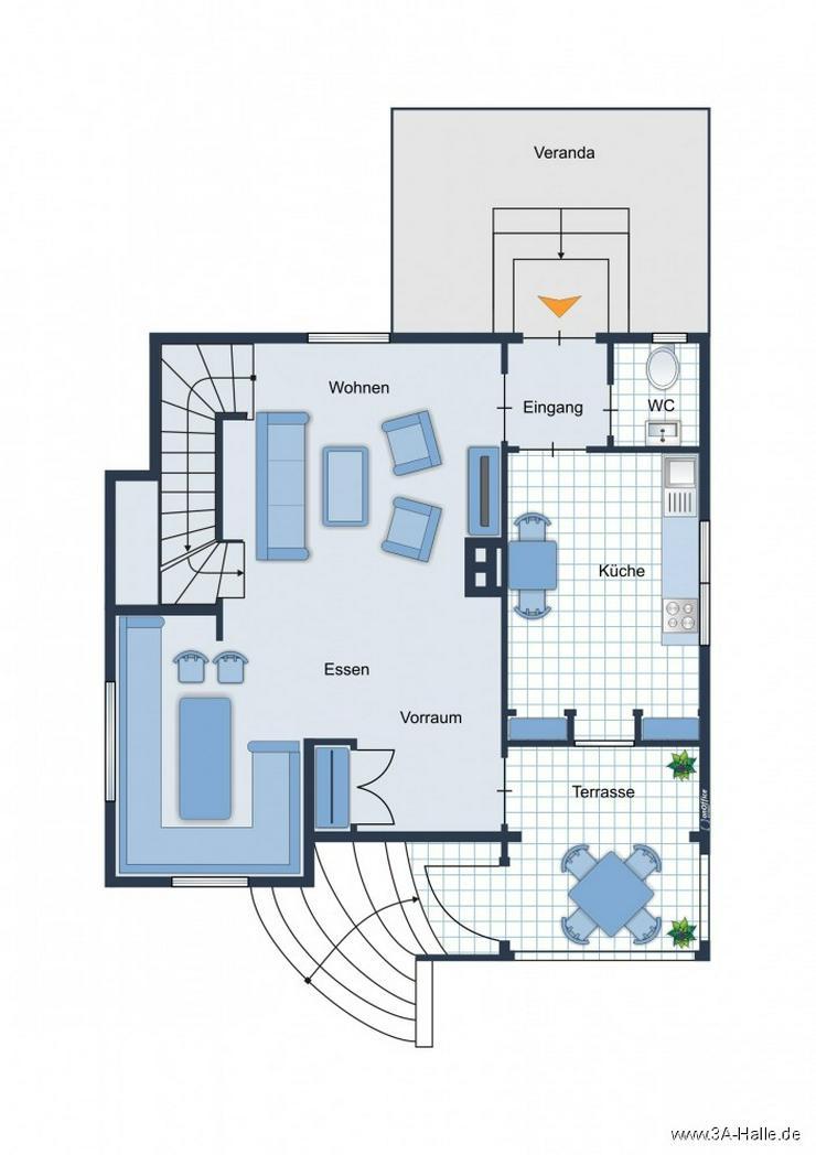Bild 7: Liebhaber-Grundstück mit einzigartiger Villa