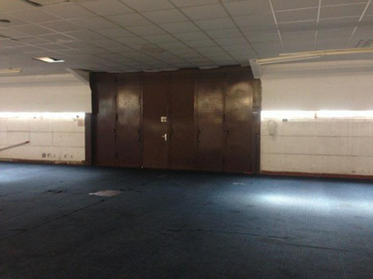 Bild 5: Praktische Halle mit angeschlossenem Verkaufsraum