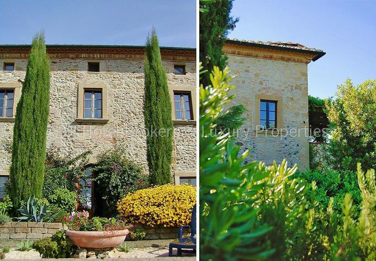Bild 5: Romantisches imposantes Herrenhaus Anwesen in der Region Volterra mit Suiten und Zimmern z...