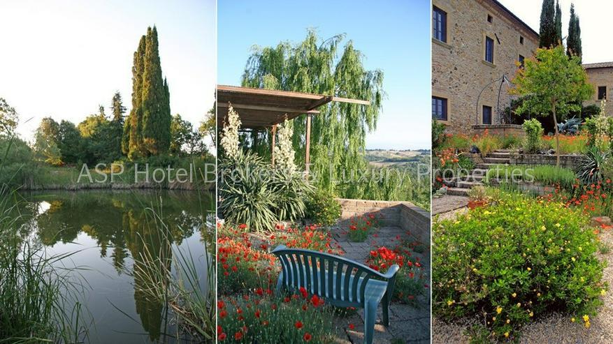 Bild 6: Romantisches imposantes Herrenhaus Anwesen in der Region Volterra mit Suiten und Zimmern z...