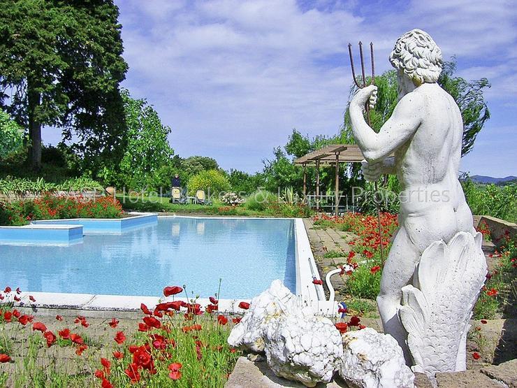 Bild 6: Romantisches imposantes Herrenhaus Hügel Anwesen bei Volterra mit Suiten und Zimmern zu k...