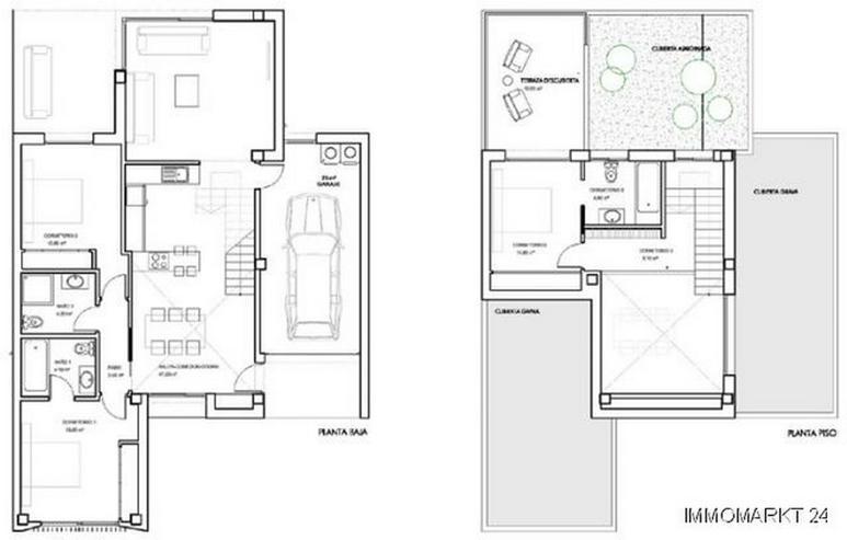 Bild 3: Villen in innovativem Design mit Privatpool und Garage