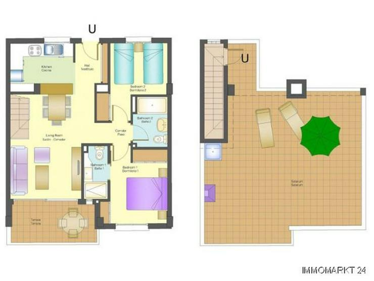 Bild 5: Penthouse-Wohnungen mit Meerblick
