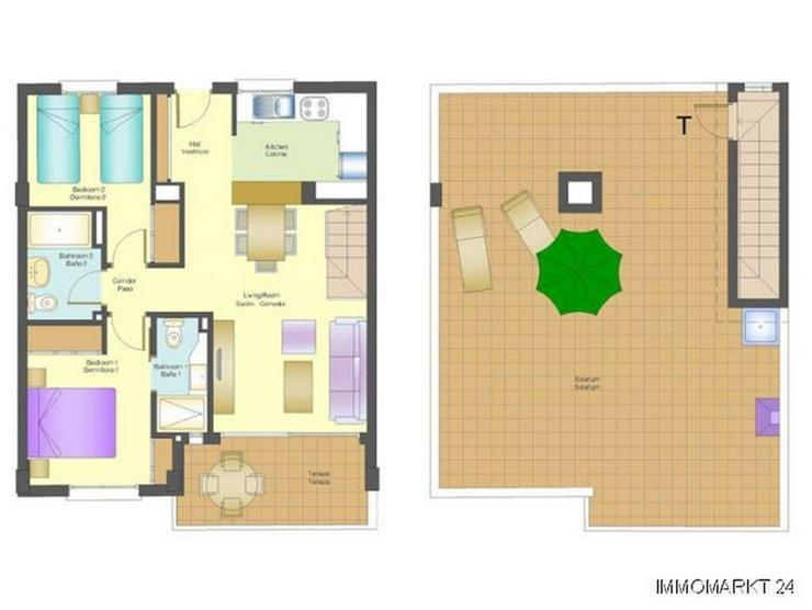 Bild 6: Penthouse-Wohnungen mit Meerblick