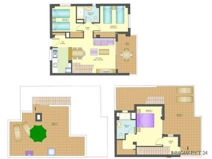 Bild 6: Maisonette-Wohnungen mit Meerblick