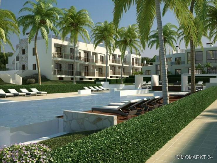 Bild 4: Moderne Penthouse-Wohnungen mit Gemeinschaftspool