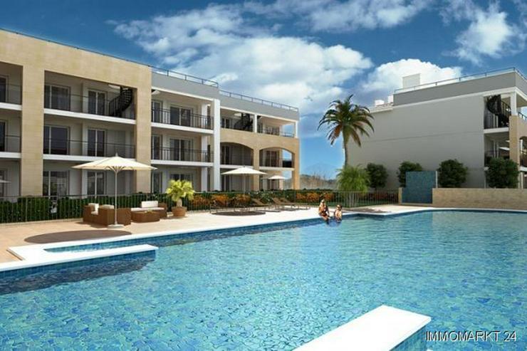 Bild 3: Exklusive Erdgeschoss-Appartements in Anlage am Strand