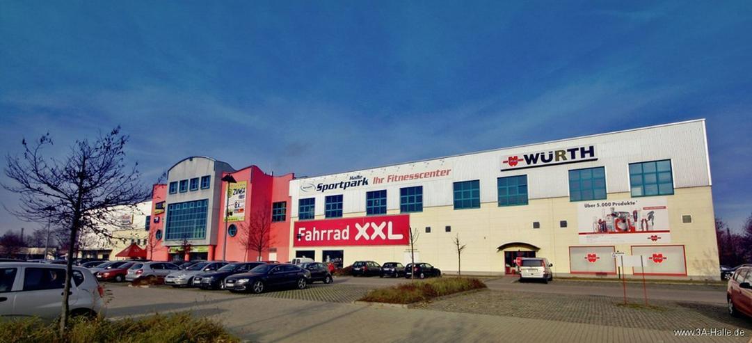 890 m² Ladenfläche im Gewerbegebiet im Osten von Halle - Gewerbeimmobilie mieten - Bild 1