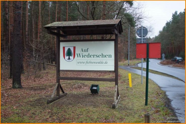 """Bild 6: Hallo """"Fichtenwalde"""" hier kann IHR Haus mit Wohnsiegel stehen"""