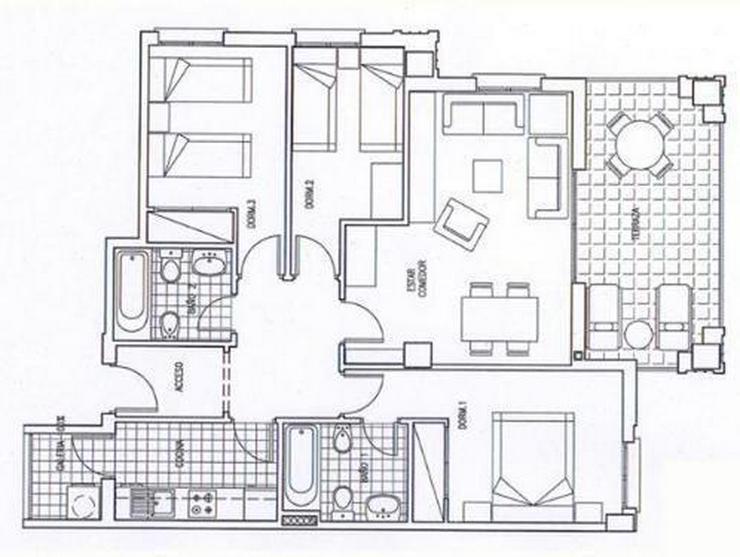 Bild 6: Appartements in bester Lage nur 150 m vom Strand