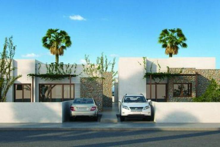 Bild 2: Moderne und komfortable 4-Zimmer-Villen mit Natursteinelementen