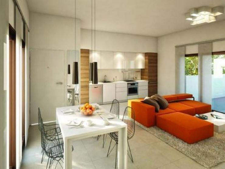 Bild 3: Moderne und komfortable 3-Zimmer-Villen mit Natursteinelementen