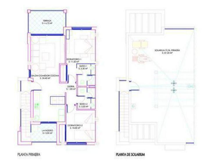Bild 4: 2-Schlafzimmer-Obergeschosswohnungen mit Gemeinschaftspool und Spa