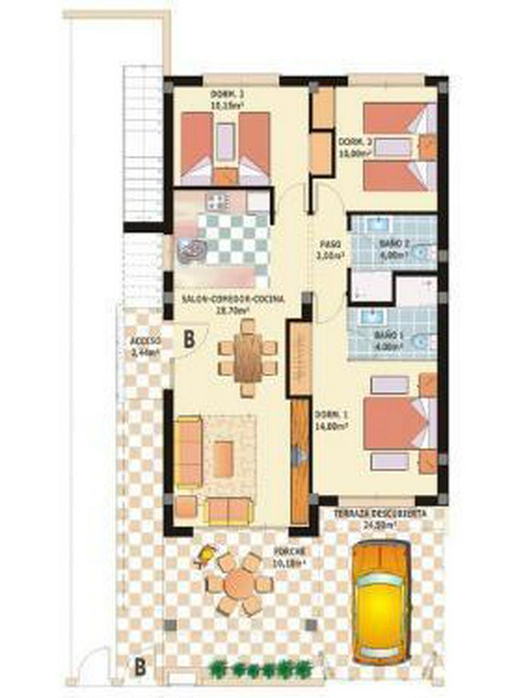 Bild 11: Erdgeschoss-Appartements mit Gemeinschaftspool und Spa