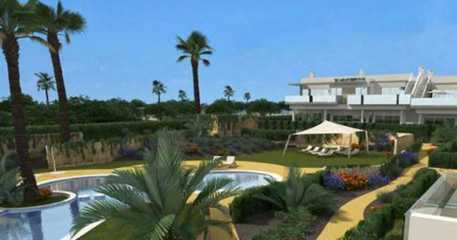 Komfortable Erdgeschoss-Wohnungen neben Golfanlage - Wohnung kaufen - Bild 1