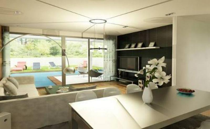 Bild 2: Moderne Neubau-Doppelhaushälften mit Privatpool