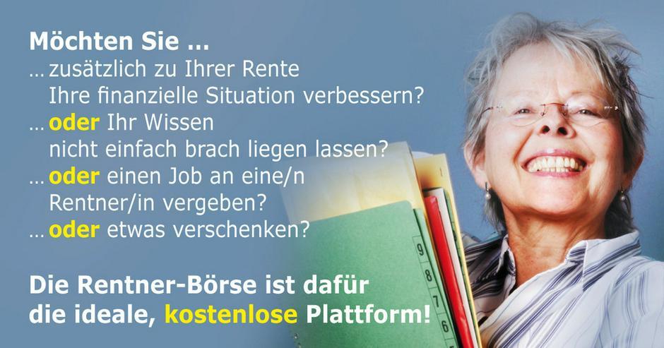 Die Job Boerse für Rentner - Weitere - Bild 1