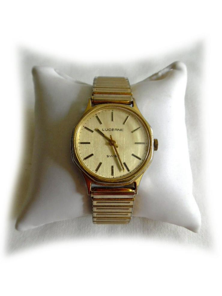 Seltene Herrenarmbanduhr von Lucerne - Herren Armbanduhren - Bild 1