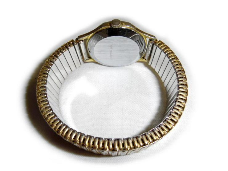 Bild 2: Seltene Herrenarmbanduhr von Lucerne