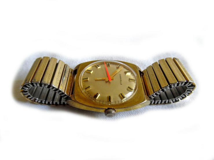 Bild 3: Schöne Herrenarmbanduhr von Caravelle