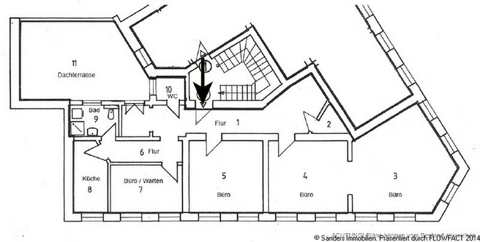 Bild 3: Moderne Praxis / Bürofläche in der Fußgängerzone von Herne Mitte