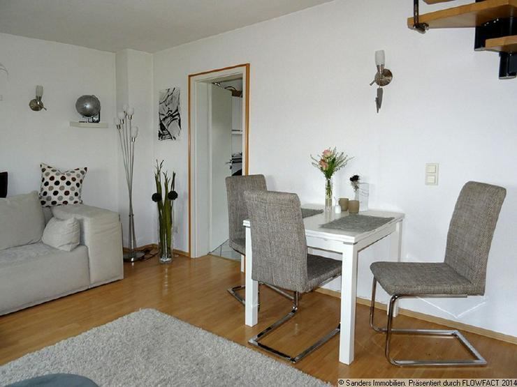Bild 2: Chicke Single-Wohnung auf zwei Ebenen