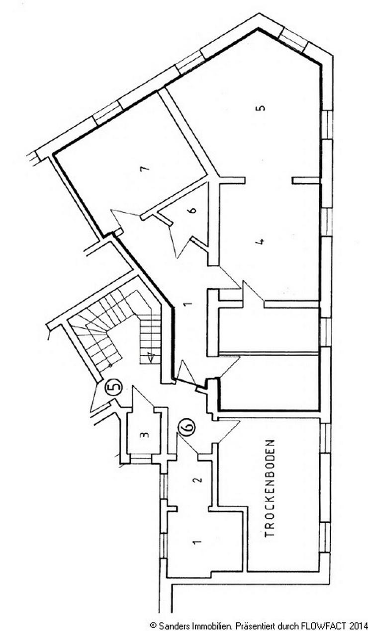 Bild 12: Gemütliche Wohnung in einem ansprechenden Altbau im Herzen der Innenstadt