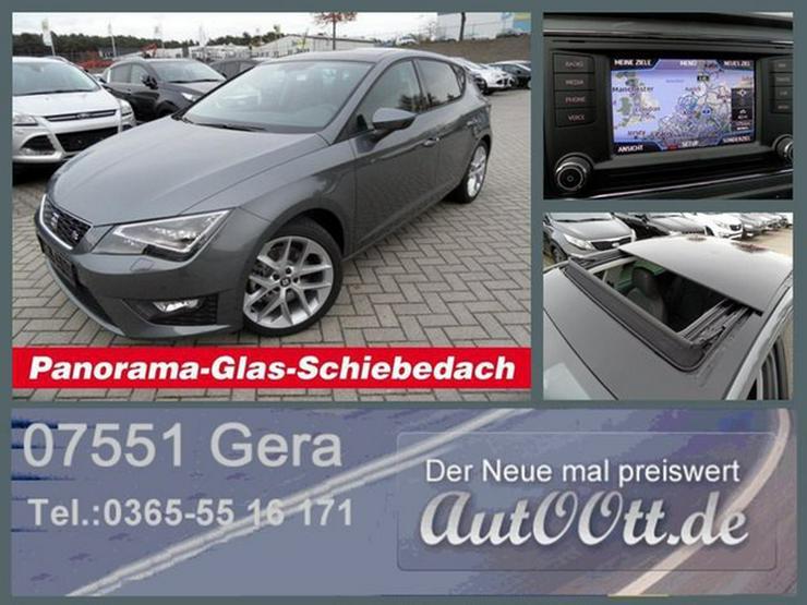 SEAT Leon FR 180PS GSD,LED,Navi uvm/Lager - Leon - Bild 1