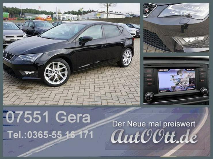SEAT Leon FR 180PS Navi, LED uvm/Lager - Leon - Bild 1