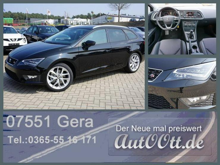SEAT Leon ST FR 180PS LED, Navi uvm/Lager - Leon - Bild 1