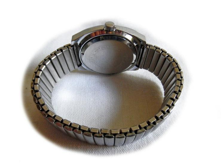Bild 2: Seltene Herrenarmbanduhr von Spendid
